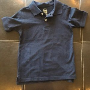 Boys navy polo